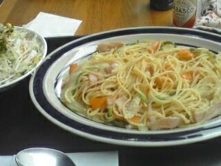 和風スパゲッティと洋風スパゲッティ